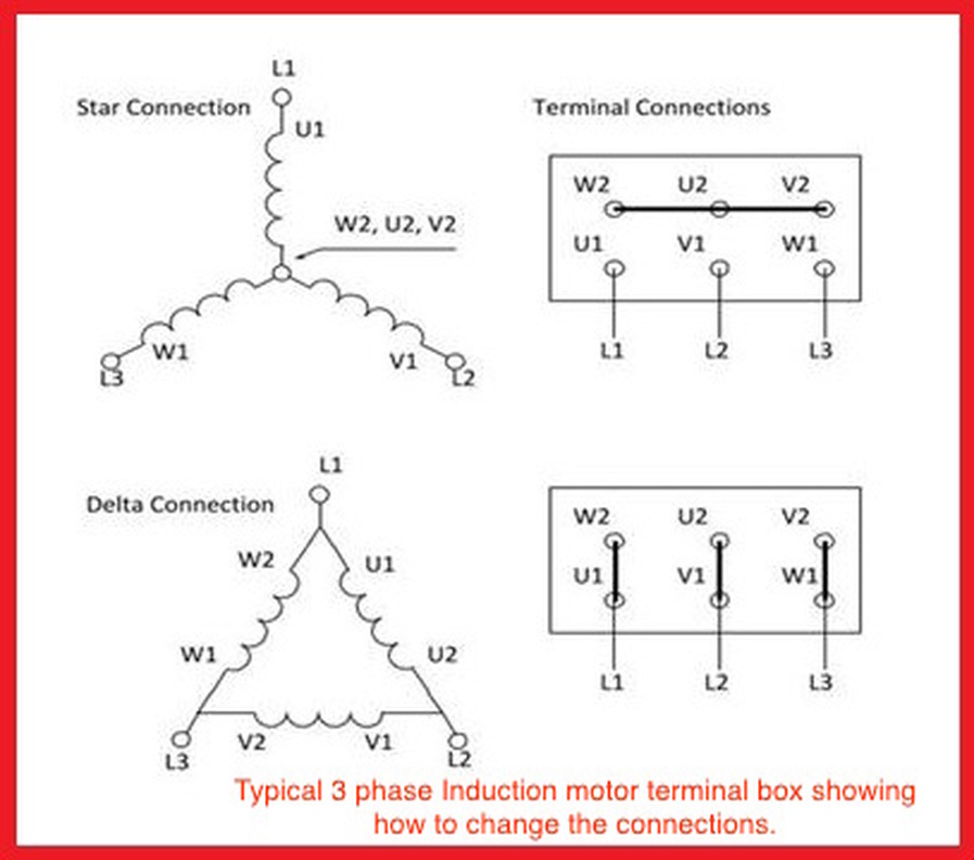 Star Delta Connection Wiring Diagram Datasheet